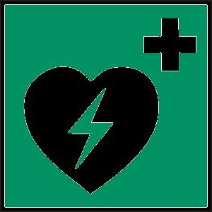 Pictogramme défibrillateur
